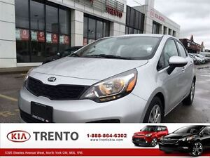2014 Kia Rio LX+ HEATED SEATS factory warranty