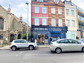 W3: Newly refurbished and nicely located A3 commercial premises on Acton High St.