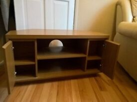 tv stand with 2 cupboards