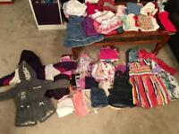 Large bundle girls clothes 2-3years & 3-4yrs John Lewis, Next, M&S & other brands over 70 items