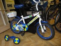 CHILDS BICYCLE . with Stabilisers