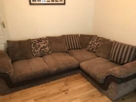 SOLD Left Hand Facing Corner Sofa