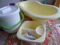 Baby bath set Mothercare