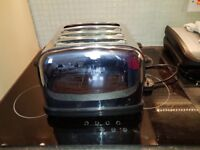 Stainless Steel Kettle & Toaster