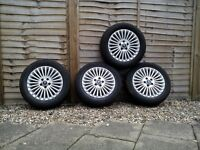 £125 Ford Mondeo(mk4) 4 Very condition Alloys with tyres 2007-2014
