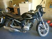 Kymco Pulsar 125 125cc - cheap reliable run-around. 8 months MOT, 11,000miles
