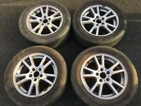 BMW X3 ALLOY WHEELS AND TYRES