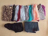 Maternity clothing bundle size 8-10
