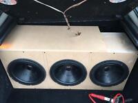 "JBL GT5 12"" Custom Subwoofer Box"