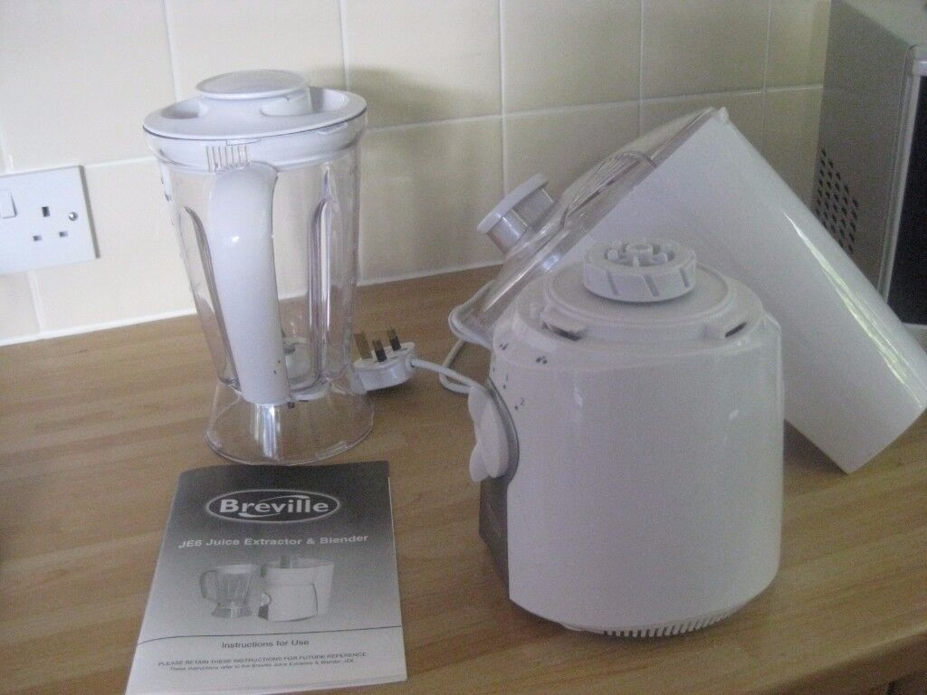 Breville JE6 Juicer and Blender