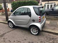56 Reg Silver Smart City Passion Coupe Semi-Auto 0.7 Petrol 3dr £1650