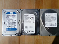 SATA Hard Drives - Used