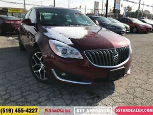 2017 Buick Regal Sport   LEATHER   ONE OWNER   CAM