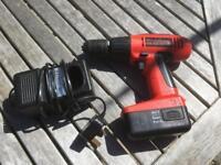 2 snap on cordless drills.