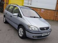 7 SEATER VAUXHALL ZAFIRA 2.0 TURBO DIESEL 1 YEAR MOT VERY GOOD CONDITION