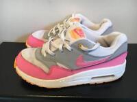 Girls Pink Nike Air Max UK2.5