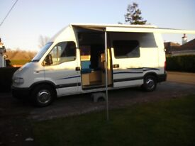 Vauxhall Movano LWB Campervan 2.5 litre diesel (professional conversion)