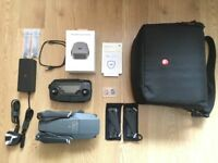 DJI MAVIC PRO QUADCOPTER CAMERA DRONE 4K UHD 12MP & EXTRAS