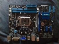 asus p8h61-mx usb3.0 1155 motherboard intel