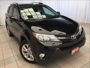 2013 Toyota RAV4 Limtied AWD *JUST 44,778 KM! *