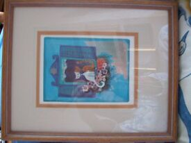 3 x Rosina Wachtmeister framed pictures