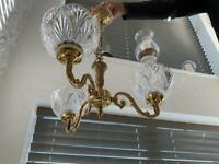 Classic 3 Arm Ornamental Ceiling Light