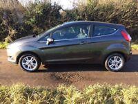 2015 Ford Fiesta Zetec 1.2 Petrol 3 Door Hatchback