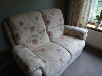 As new 2 seater lazy boy Suffolk sofa purchased from Aldiss