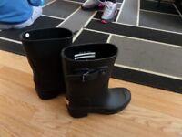 Womens Hunter Wellies Short Leg Size 4