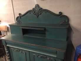 Up Cycled Time Worn Finish Victorian Chiffonier