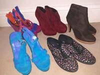 Size 5 shoes and bags £3 each or 2 for £5