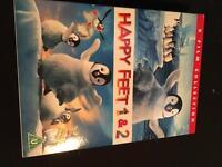 Happy Feet 1&2 DVD
