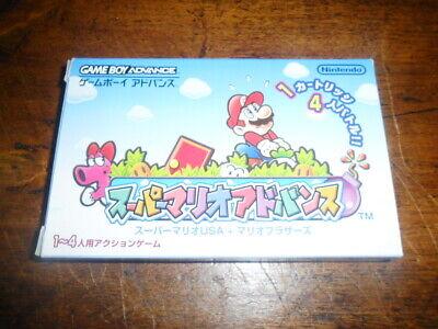 Super Mario Advance - Nintendo Game Boy Advance - GBA - NTSC-J (Jap)