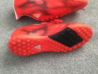 Boys Adidas Indoor Football Boots size 4