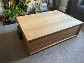 FREE Habitat MAX Large Coffee Table and Matching TV unit