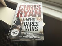Signed book Chris Ryan