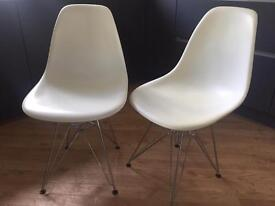 Eames Eiffel style dining chairs