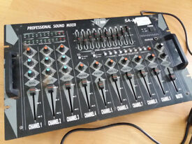 10 Channel Professional Sound Mixer Desk - Mobile DJ/Karaoke/Theatre Group Audio Equipment
