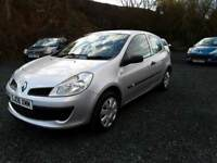 Renault Clio 2006, 1.2, NEW MOT+LOW MILEAGE+1 OWNER, cheap insurance