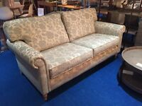 John lewis **Eleanor** 3 seater sofa duck blue floral RRP £899