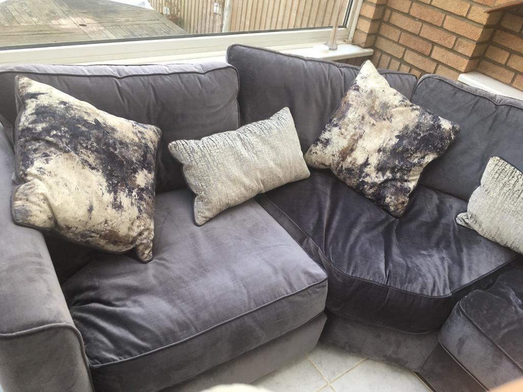 Grey corner sofa from better furniture