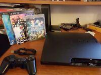Playstation 3 --- 120GB Slim + 7 game RPG Bundle