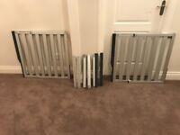 2 Lindam Numi Aluminium Extendable Easy Close Stair Gates