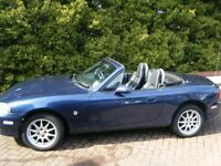 Mazda MX5 1.6 Convertible, MX-5 2002 nice condition and mot'd 'till end April 2017