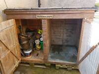 LARGE DOG KENNEL TWIN SIDED