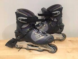 Ladies Salomon Inline Skates - Size UK 6