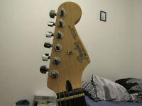 Fender Mexican Stratocaster with hard case