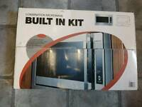 Combination microwave Built in Kit