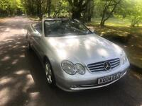 ***MERCEDES BENZ CLK 240 CONVERTIBLE 2004 AUTOMATIC ONLY 79,000MILES***