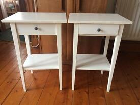 Various: Ikea bedside tables, Ikea storage baskets, laundry basket, canon printer/scanner